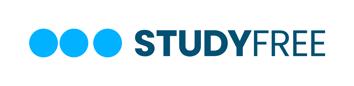 Logo StudyFree rectangle on white